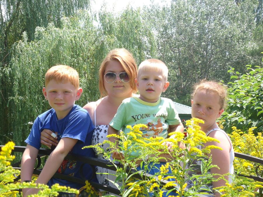 Детишки из Мировского детского дома в Анапе