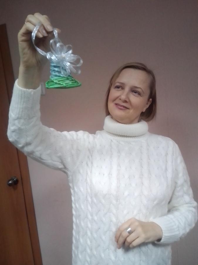 """Мастер-класс """"Плетение новогодних игрушек"""" прошёл на УРА!"""