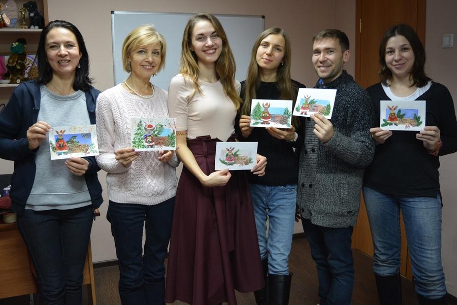 Мастер-класс «Новогодняя открытка» состоялся!