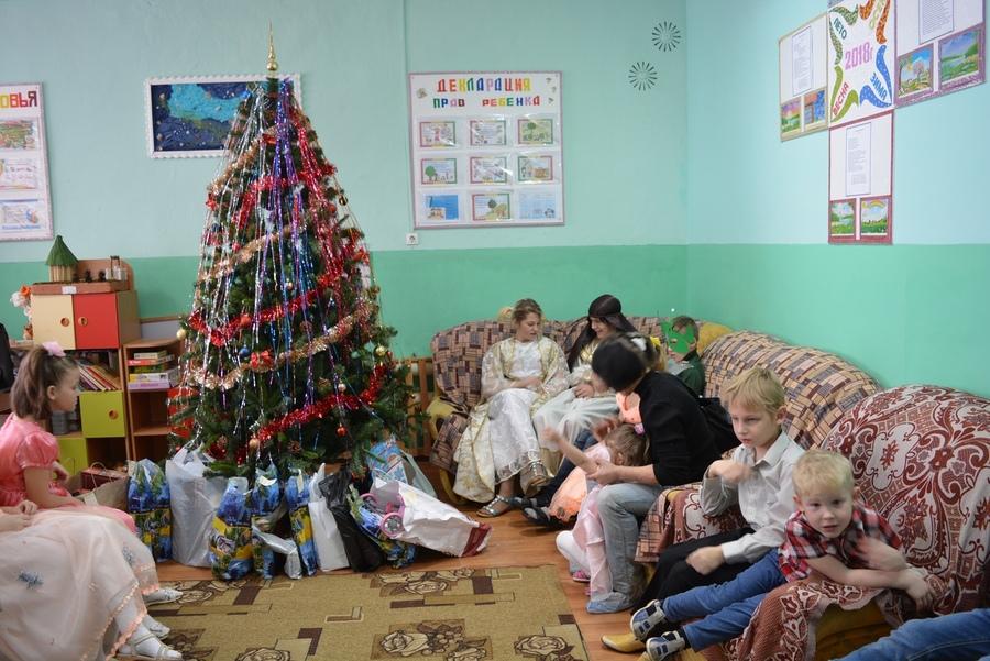 Утренник в Панинском социально-реабилитационном центре